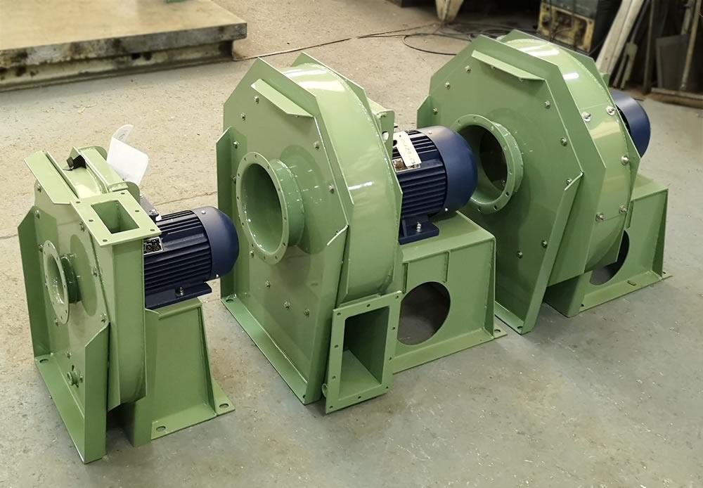 Standard industrial fans by Ventmeca