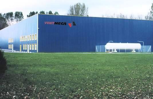 Europe plant - Ventmeca