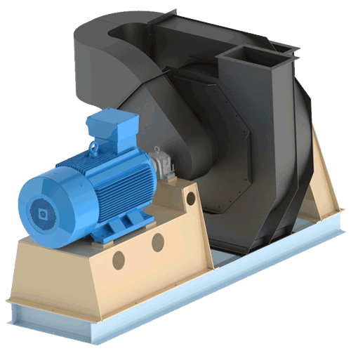High Pressure Double Stage Blower